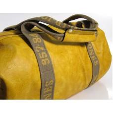 Дорожная сумка David Jones Желтая, большая