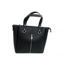 Женская сумка с молнией по центру