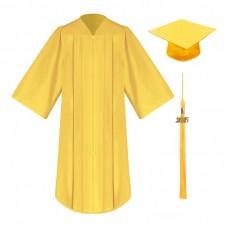 Академическая одежда желтая