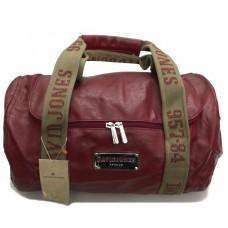 Дорожная сумка David Jones красная