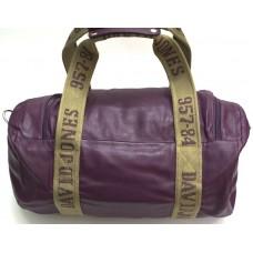 Дорожная сумка David Jones фиолетовая