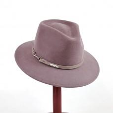 Фетровая шляпка Федора Lilac