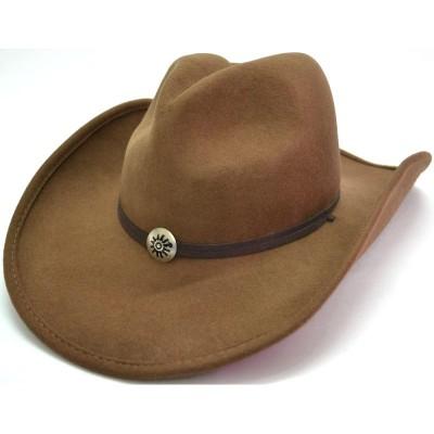Бежевая ковбойская шляпа Бедленд
