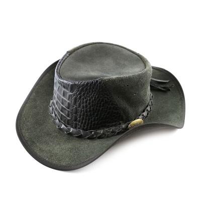 Ковбойская шляпа из кожи