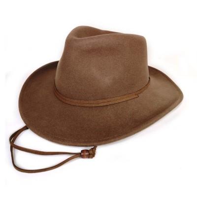 Ковбойская шляпа Стелион бежевая