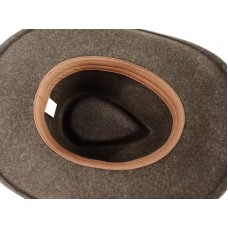 Шляпа коричневый меланж Outback