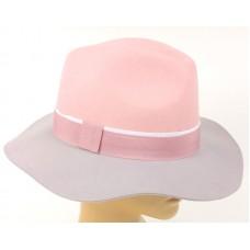 Федора розово-серая