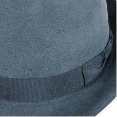 Dark Grey Velvet hat