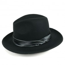 Шляпа федора с пером