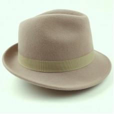 Trilby Hat - Pecan