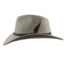 Ковбойская шляпа Стелион Светло-серая