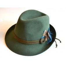 Тирольская шляпа зеленая