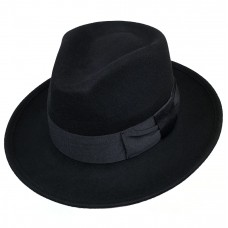 Федора черная