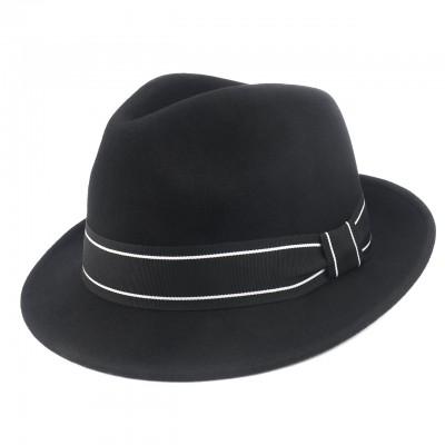 Fedora black Exclusive шляпа из фетра