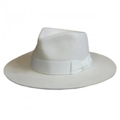 Фетровая шляпа федора плотный фетр с подкладкой