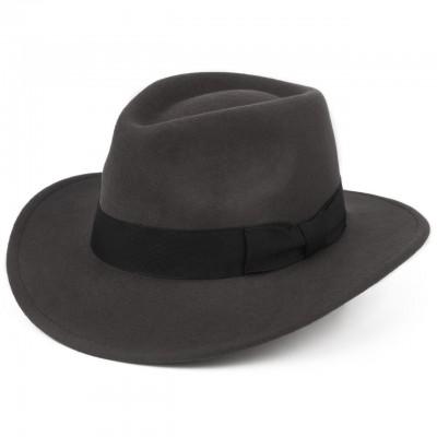 Серая шляпа из Австралийской шерсти