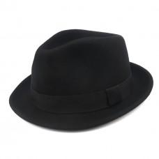 Шляпа Трилби, черная