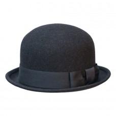 Шляпа котелок антрацитовый