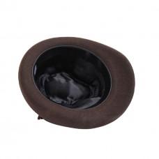 Тирольская шляпа коричневая Bavarian hat