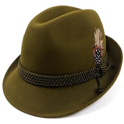 Тирольская шляпа из велюра Чехия
