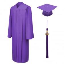 Академическая одежда фиолетовая