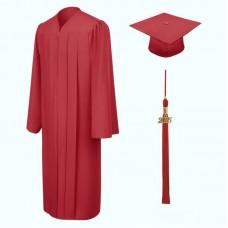 Академическая одежда красная
