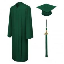 Академическая одежда зеленая