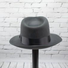 Шляпа Гангстерская серая