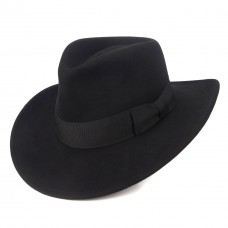 Indiana Jones Hats Promotional Fedora - Black