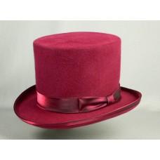 Шляпа Цилиндр, розовый