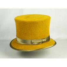 Шляпа Цилиндр, лимонная