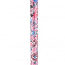 Трость с цветами розовая